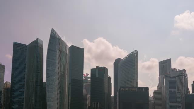 Skyline van Central Business District van Singapore City