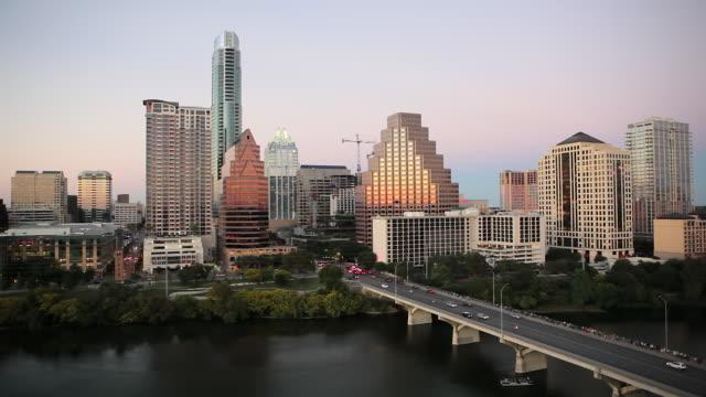Skyline of downtown Austin, Texas, USA