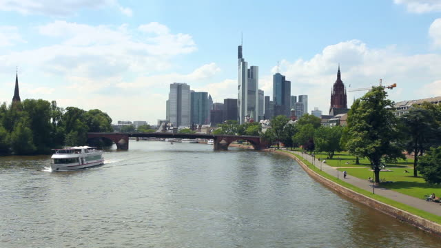 Skyline of Frankfurt am Main