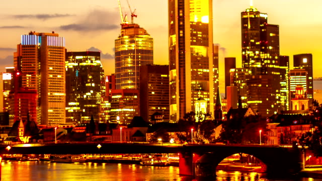 Skyline van Frankfurt