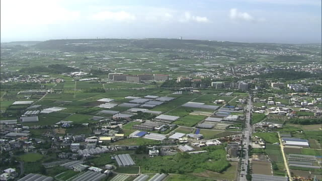 AERIAL, Skyline Of Okinawa, Japan