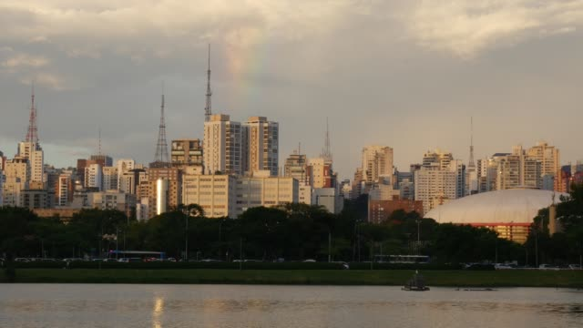 skyline of sao paulo - real time stock videos & royalty-free footage