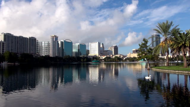 skyline - orlando, florida - orlando florida stock videos & royalty-free footage