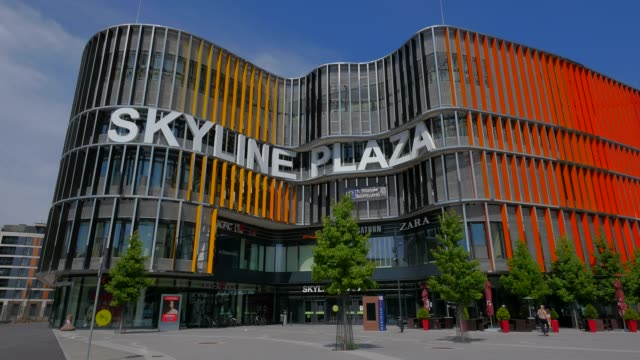 Skyline Plaza Shopping Centre at Europa Allee, Frankfurt am Main, Hesse, Germany