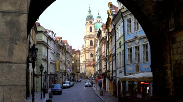 stockvideo's en b-roll-footage met skyline van praag, time-lapse - tsjechische cultuur