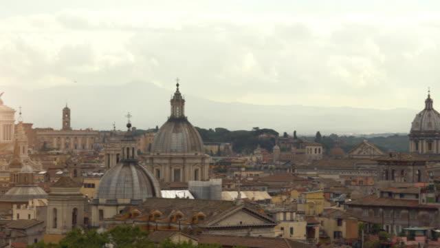 Skyline Rome, panning