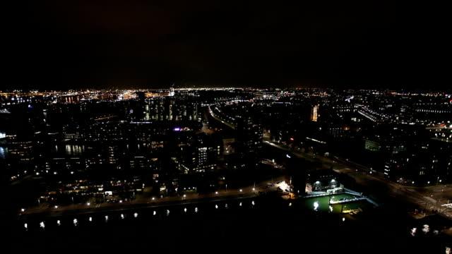 skyline rotterdam, time lapse - rotterdam stock videos and b-roll footage