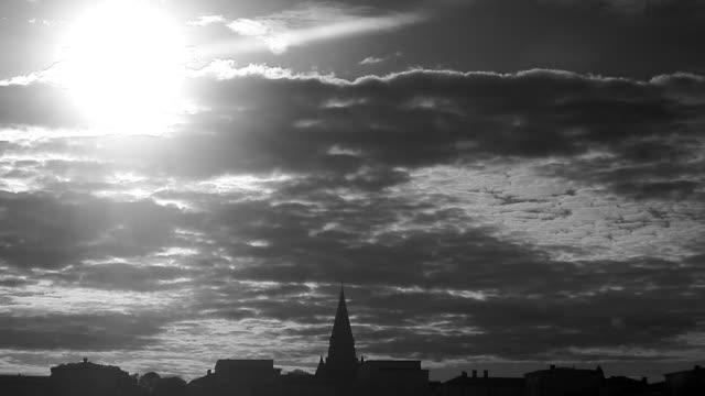 skyline stockholm sweden. - svartvit bild bildbanksvideor och videomaterial från bakom kulisserna