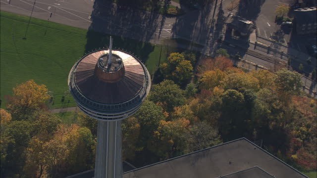 Skylon Tower On Canadian Side Of Falls