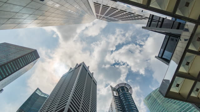 Skyscraper building in area Business Finance and Industry