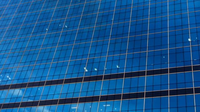 Skyscraper Cloud Reflection