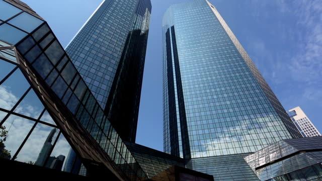 Skyscraper in Frankfurt, Panning