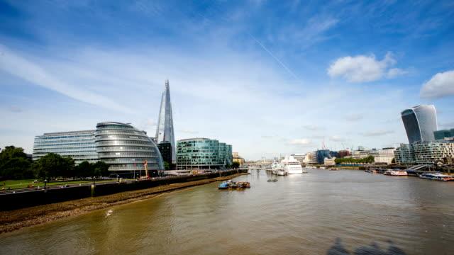 Wolkenkratzer Büro business-Gebäude in London, England-Zeitsprünge