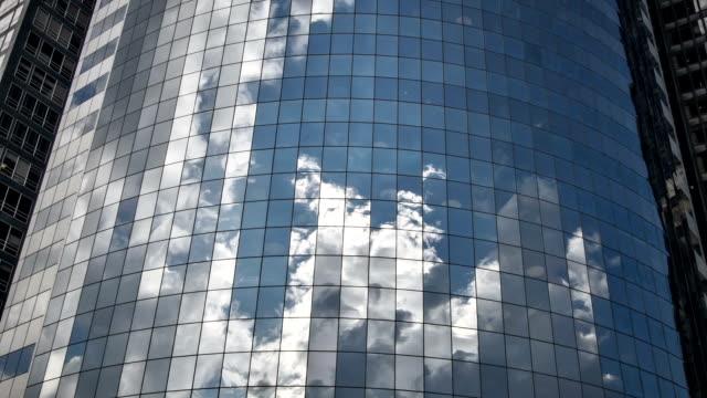 Skyskrapa Office Windows återspeglas