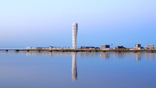 Skyscraper Turning Torso in Malmo Sweden
