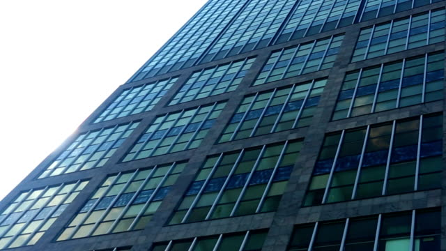 skyscraper with sunshine and zoom - loft apartment stock videos & royalty-free footage