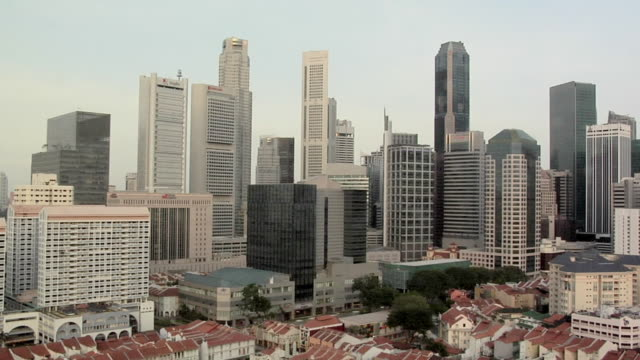 WS, HA, Skyscrapers at Central Area, Singapore