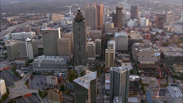 Skyscrapers fill the downtown area of Atlanta, Georgia.