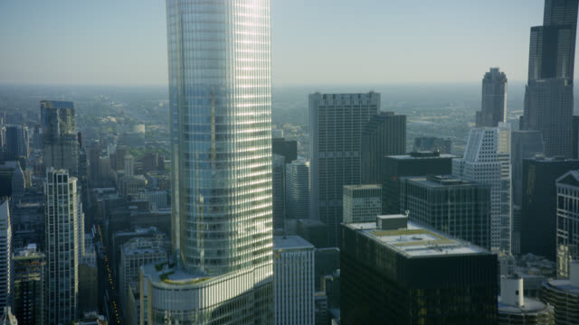 WS TU POV Skyscrapers in city
