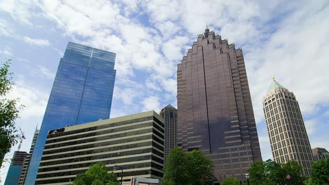 T/L WS LA Skyscrapers in Midtown Atlanta, Georgia, USA
