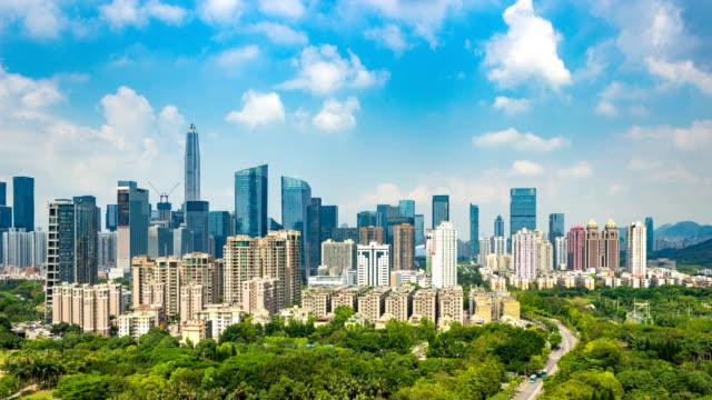 Wolkenkratzer im Central Business District Shenzhen / Shenzhen, China