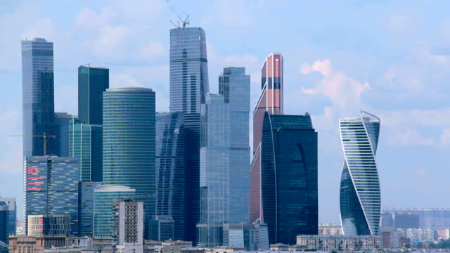 Skyscrapers International Business Center City.