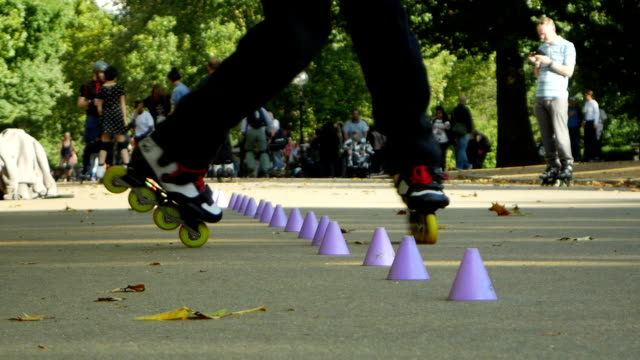 Image result for central park slalom skaters