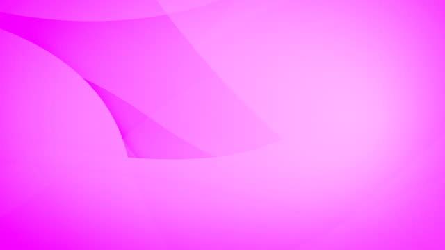 gesunkene, abgewinkelte und abgerundete und geschwungene abstrakte lila geometrische formen, kreise, die sich verzahnen und um die schleife schweben können, die nahtlos 4k hintergrundvideo - kontrastreich stock-videos und b-roll-filmmaterial