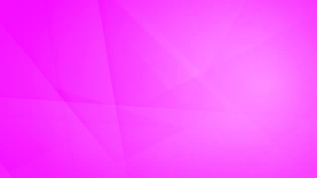 vídeos de stock, filmes e b-roll de oblíqua, angular e afiada curvas abstratas magenta formas geométricas, retângulos, triângulos, quadrados de malha uns aos outros e flutuando em torno de loop capaz de vídeo de fundo 4k sem costura - articulação facetária