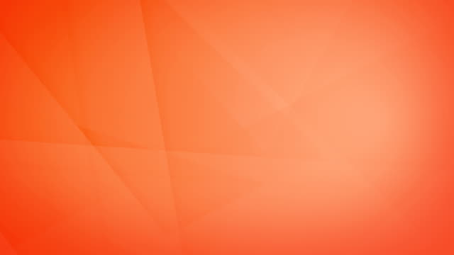 slanted, angled and sharp cornered abstract orange geometric shapes, rectangles, triangles, squares meshing each other and floating around loop able seamless 4k background video - orange colour stock videos & royalty-free footage