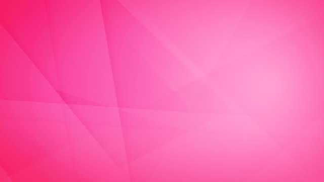 vídeos de stock, filmes e b-roll de oblíqua, angular e afiada encurralado abstrato rosa formas geométricas, retângulos, triângulos, quadrados de malha uns aos outros e flutuando em torno de loop capaz de vídeo de fundo 4k sem costura - articulação facetária