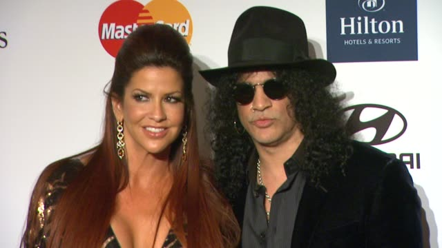 Slash at Clive Davis And The Recording Academy's 2012 PreGRAMMY Gala And Salute To Industry Icons Honoring Richard Branson on 2/11/12 in Beverly...