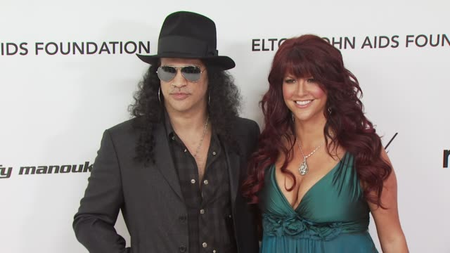 Slash at the 18th Annual Elton John AIDS Foundation Oscar Party at West Hollywood CA