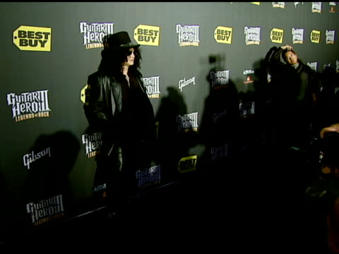 Slash at the Best Buy Presents Guitar Hero® III Legends of Rock Launch Party at Best Buy Rooftop in Los Angeles California on October 27 2007