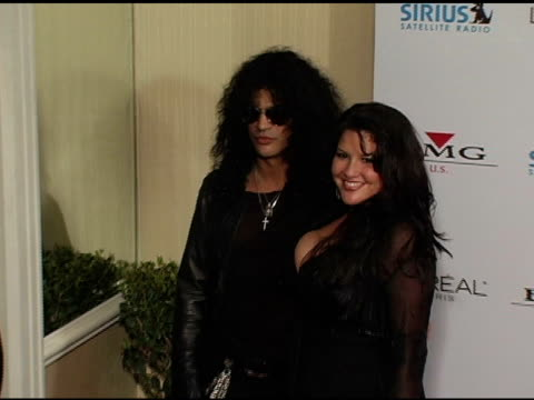 Slash at the Clive Davis' 2005 PreGrammy Awards Party arrivals at the Beverly Hilton in Beverly Hills California on February 12 2005