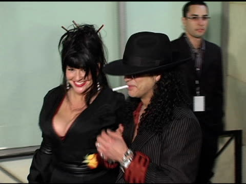 Slash at the Sony / BMG Grammy Awards Party at the Roosevelt Hotel in Hollywood California on February 13 2005