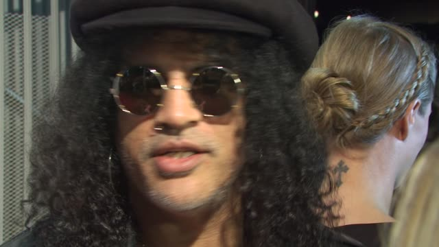 Slash on Charlotte Ronson at the Charlotte Ronson And JCPenney Spring Cocktail Jam at Hollywood CA
