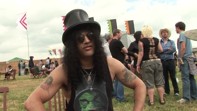 Slash on wanting to play rock n roll
