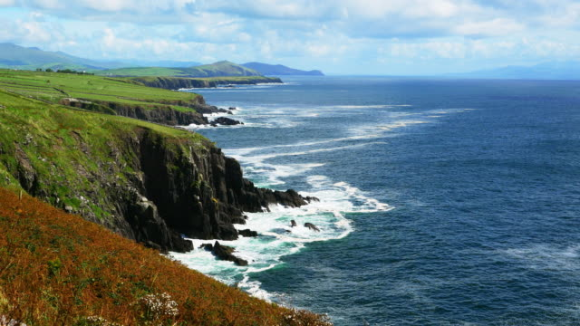 Slea Head Coastline On Dingle Peninsula To The East