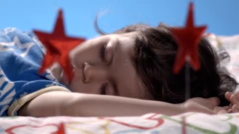 sleeping beauty - resting stock videos & royalty-free footage