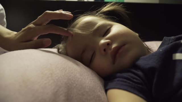sleepy girl - toddler stock videos & royalty-free footage