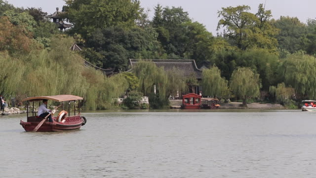 Slender West Lake in Yangzhou is a UNESCO World Heritage Site