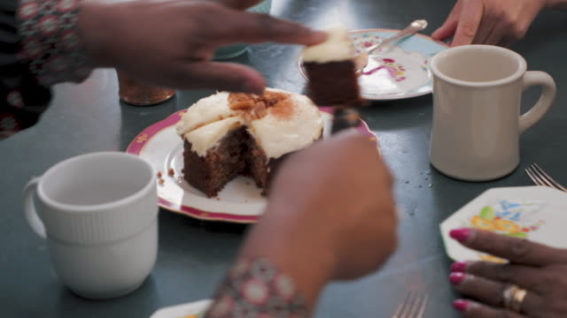 slice of cake? - brunch stock videos and b-roll footage