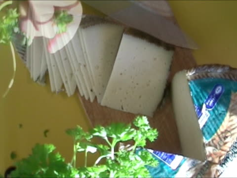 slicing cheese - dill stock videos and b-roll footage
