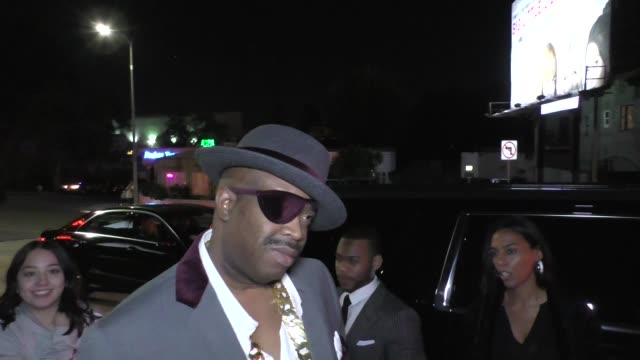 Slick Rick at the 2017 GQ Men Of The Year Dinner Party at Chateau Marmont in West Hollywood in Celebrity Sightings in Los Angeles
