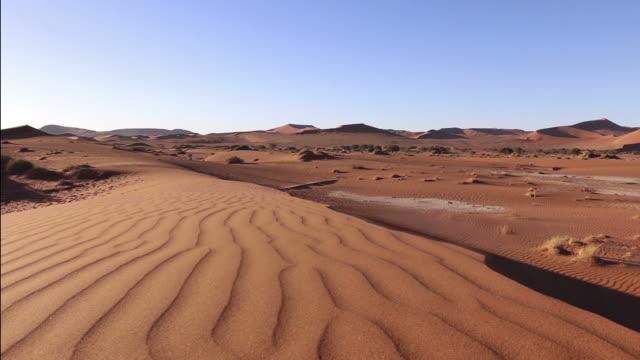 Slider Movement over Dunes at Sossusvlei, Namibia
