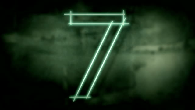 sliding grunge countdown. - number 4 stock videos & royalty-free footage