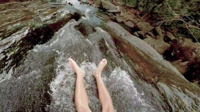 Sliding on rocks