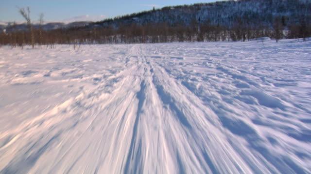 sliding on ski 02 - rural scene stock videos & royalty-free footage