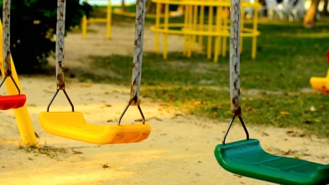 sliding : swing sway - missing people stock videos & royalty-free footage